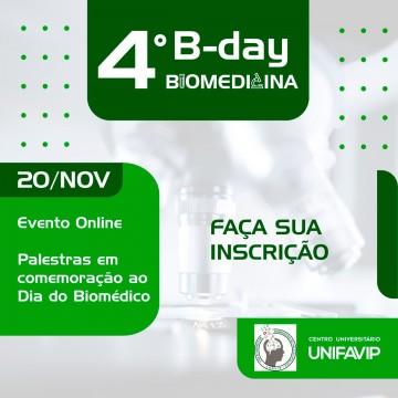 UniFavip promove 4ª edição do B-day Biomedicina com inscrições gratuitas