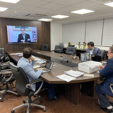 Deputados e governo estadual discutem ações de suporte à população durante a pandemia da Covid-19