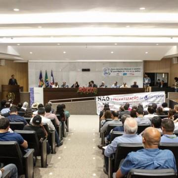 Proposta que altera lei do saneamento básico é debatida na Alepe