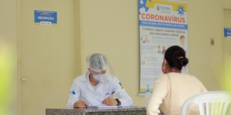 A orientação da Secretaria de Saúde da cidade é para que o cidadão entre em contato com a Unidade a qual é cadastrado ou com o agente comunitário de saúde para agendamento de consultas