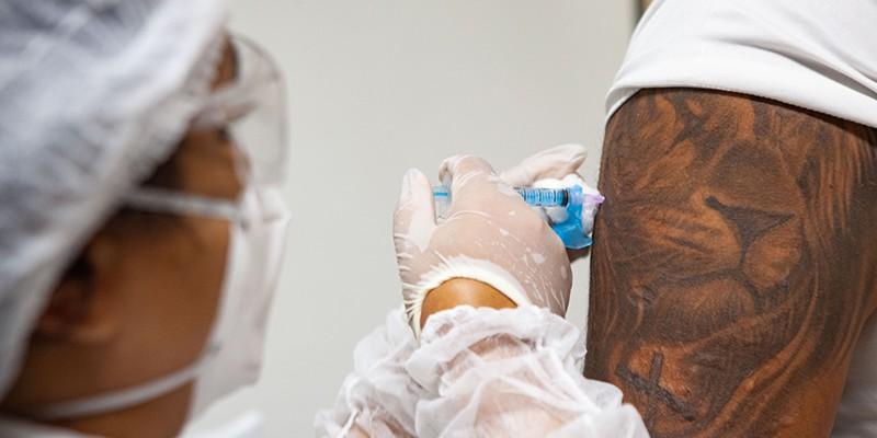 O Estado já recebeu 13.028.310 doses de vacinas contra a Covid-19 desde janeiro deste ano quando iniciou a campanha de imunização.