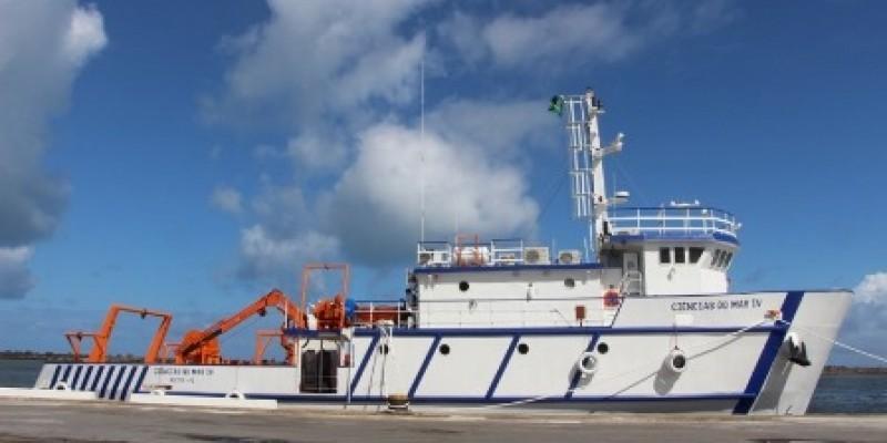 O Ciências do Mar IV poderá ser utilizado por todas as universidades da Região Nordeste que possuem cursos na área de ciências do mar
