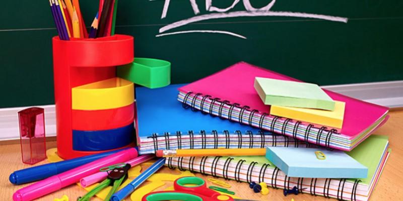 Produtos coletivos, de higiene e de escritório são responsabilidade das escolas