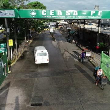 Ceasa adota medidas mais restritivas para diminuir a circulação no local