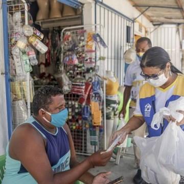 Recife amplia distribuição de máscaras