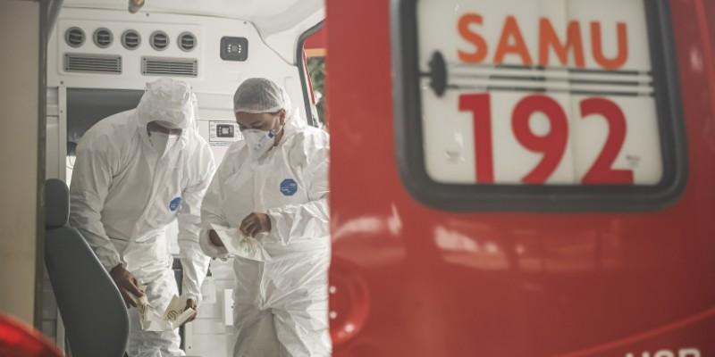 Com a redução da demanda, será possível desativar a operação especial montada para a pandemia, como as ambulâncias adicionais e os contratos temporários