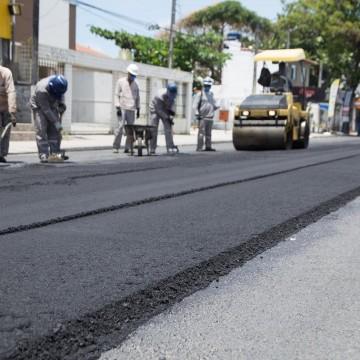 Obras na Avenida Cláudio Guerreiros Leite, no bairro do Janga estão na fase final