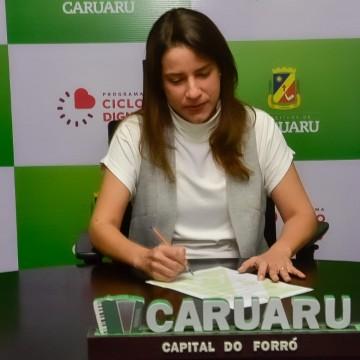 Raquel Lyra sanciona lei que institui o programa 'Ciclo Digno'