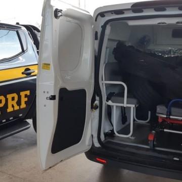 45 ambulâncias são autuadas pela PRF-PE