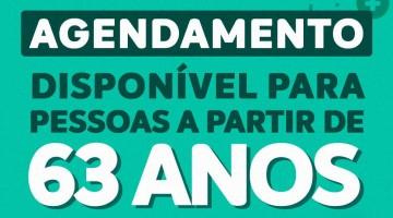 Prefeitura de Caruaru amplia vacinação para idosos com 63 anos ou mais