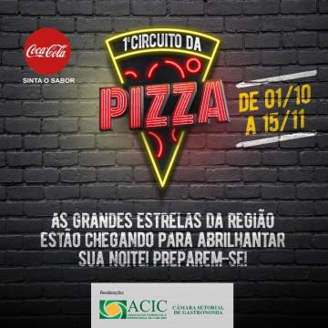 Depois das edições do Café e do Hambúrguer, Acic anuncia primeiro Circuito da Pizza de Caruaru
