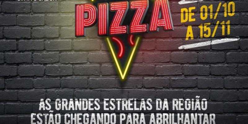 10 pizzarias farão parte da nova rota gastronômica que oferecerá brindes e prêmios aos clientes participantes