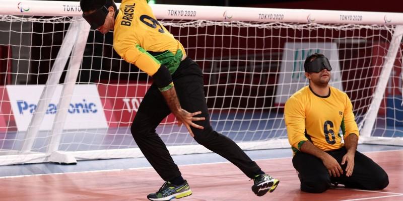 Seleção brasileira vence atuais campeões paralímpicos por 11 a 2