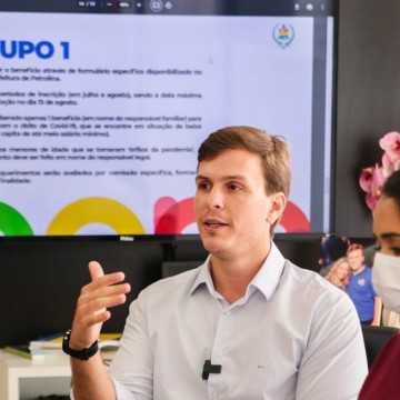 Petrolina lança auxílio para famílias com vítimas da covid-19 e desassistidos do Bolsa Família