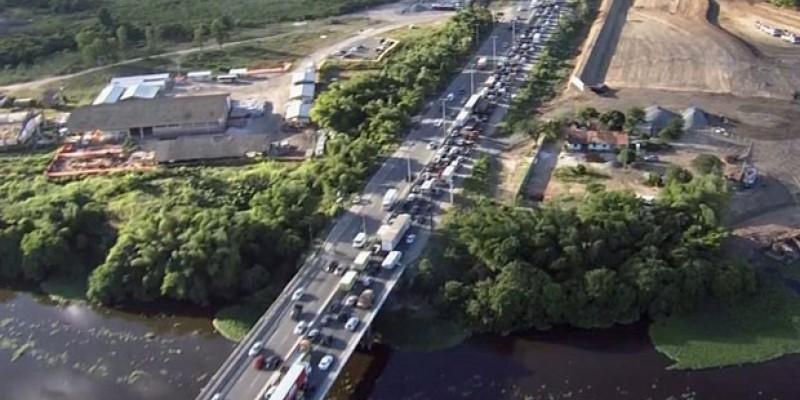 Até lá, o DER solicita dos motoristas a máxima atenção, especialmente aos que vem da Zona Sul da cidade ou da Avenida Abdias de Carvalho sentido Zona Norte
