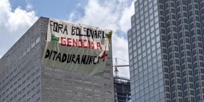 Feriado dia do trabalho nos EUA é marcado por manifestações de brasileiros prós e contra governo Bolsonaro