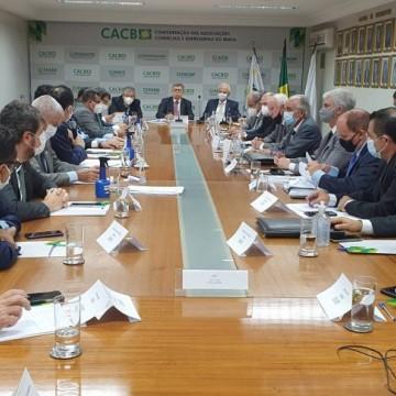 Reunião de Osíris Caldas com Governo Federal, e Caruaru como 3° maior PIB do Nordeste, demonstram cenário otimista para setor empresarial