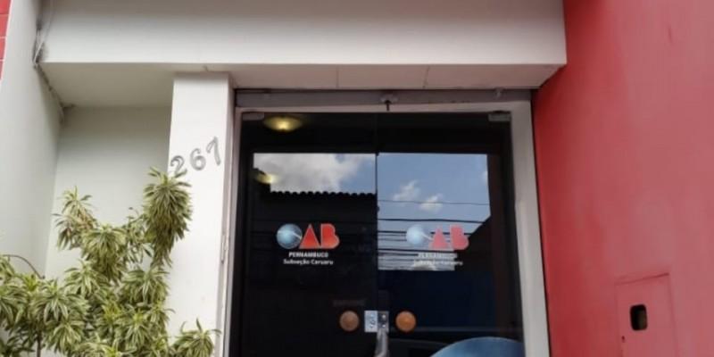 Instituição representa a classe dos advogados em Caruaru e mais 15 municípios da região
