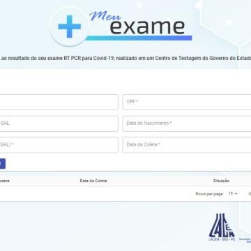 Resultados dos exames de covid-19 podem ser consultados pela internet em Pernambuco