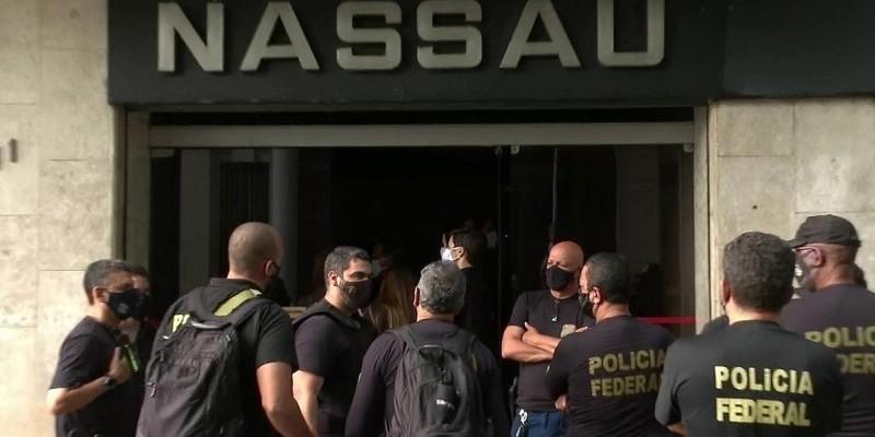 O Grupo João Santos, dono da Cimento Nassau, foi alvo de uma operação deflagrada nesta quarta-feira pela Polícia Federal.