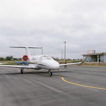 Aeroportos de Caruaru e Serra Talhada receberam mais de 1.400 passageiros