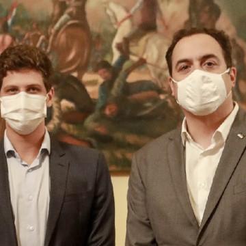 Paulo Câmara e João Campos rebatem afirmações de Bolsonaro