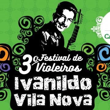 Terceiro Festival de Violeiros será realizado neste domingo (24) em Caruaru