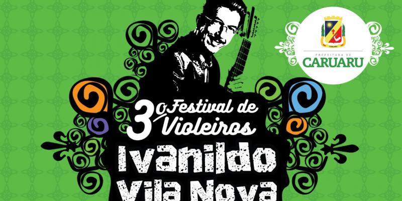 O festival contará com a presença dos melhores repentistas e declamadores de Caruaru e região que participarão em duplas