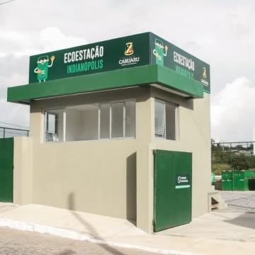 Primeira ecoestação é inaugurada em Caruaru