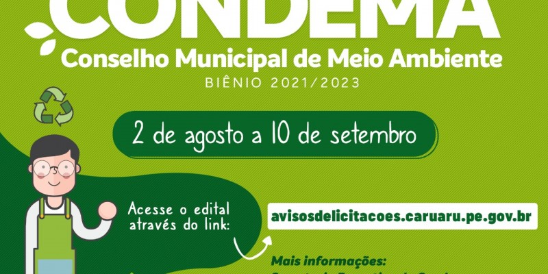 Prazo para se inscrever segue até o dia 10 de setembro