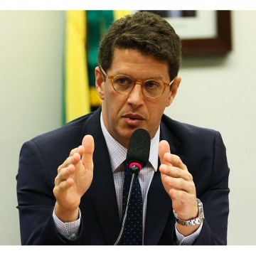 O ministro do Meio Ambiente, Ricardo Salles, disse que
