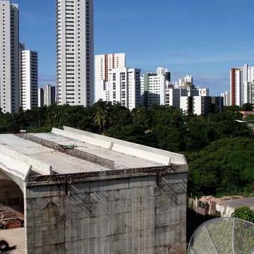 Audiência pública na Câmara do Recife vai cobrar a conclusão da ponte Monteiro-Iputinga