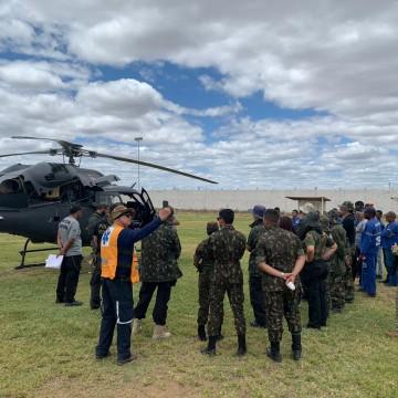 Polícia erradica grande quantidade de maconha no Sertão de Pernambuco