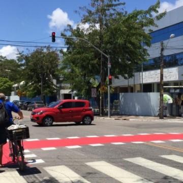 Recife receberá mais 1,6 km de extensão cicloviária