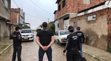 Polícia Civil realiza operação em Caruaru