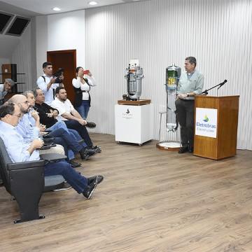 Parlamentares pernambucanos visitam a usina nuclear de Angra 2
