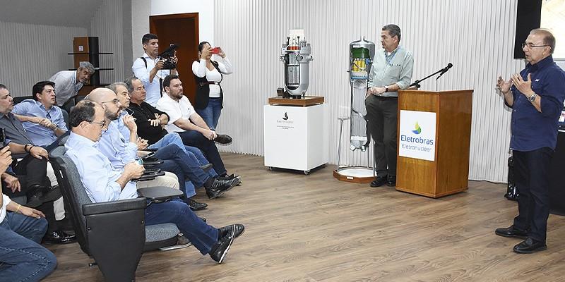 O intuito da ida foi conhecer mais detalhadamente a usina e buscar fundamentação para o debate sobre a possível instalação de uma central nuclear em Itacuruba