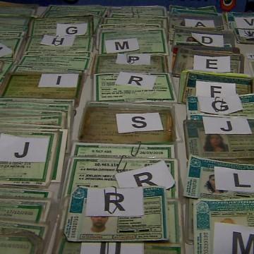 Quase dois mil documentos perdidos desde as prévias de carnaval podem ser recuperados