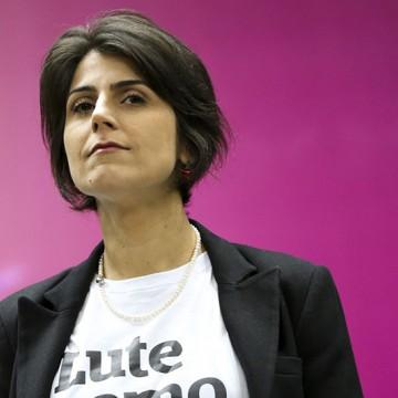 Manuela D'Ávila lança livro no Recife